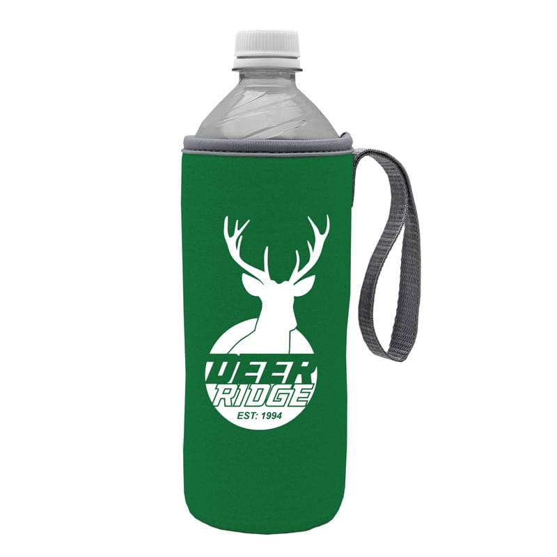 Water Bottle Caddy with Carry Strap