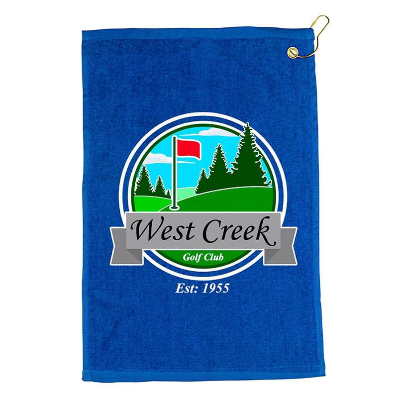 "18"" Golf Towel - Colors Digital"