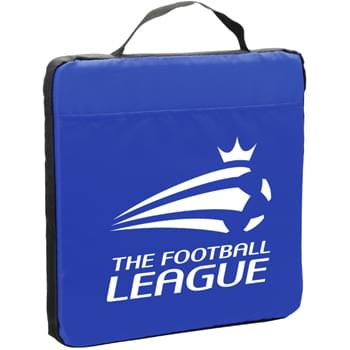 "13.5"" Fabric Stadium Cushion with Pocket"