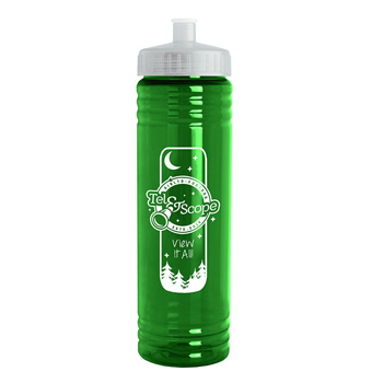 24 Oz. Slim Fit Water Bottle with Push-Pull Lid