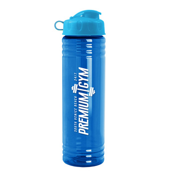 24 Oz. Slim Fit Water Bottle with Flip Top Lid
