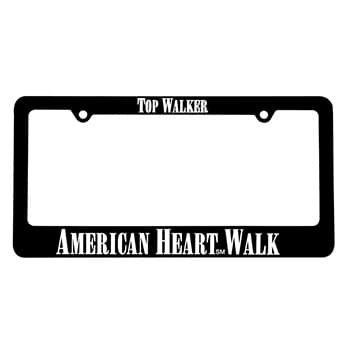 Classic License Frame with 2 Holes