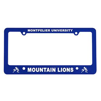 Classic License Frame with 4 Holes