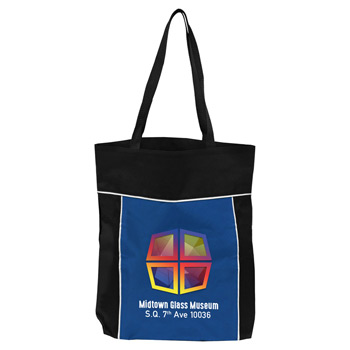 "Digital Deco Tote - 14"" x 16"" 600D Tote"