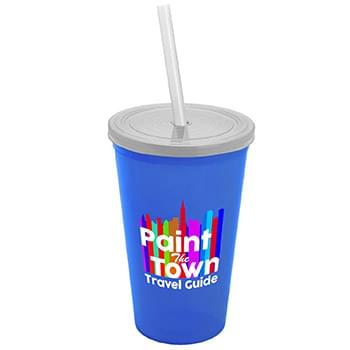 22 oz. Straw-n-Lid Single-wall Tumbler - Digital
