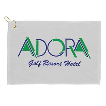 "18"" Golf Towel - White"