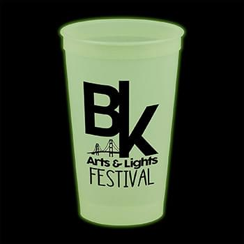 20 oz. Glow in the Dark Stadium Cup