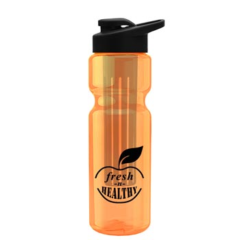 28 oz. Bottle with Long Infuser & Snap Lid