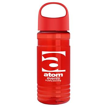 20 oz. Tritan Sports Bottle With Oval Crest Lid