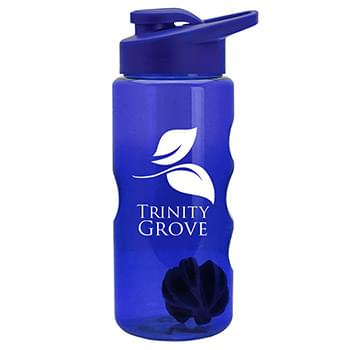 22 oz. Tritan Mini Shaker Sports Bottle - Drink Thru Lid