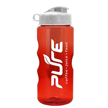 The Infuser - 22 oz. Tritan™ Transparent Sports Bottle - Infuser