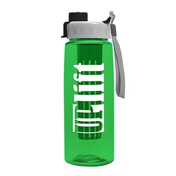26 oz Infuser Flair Bottle & Quick Snap Lid