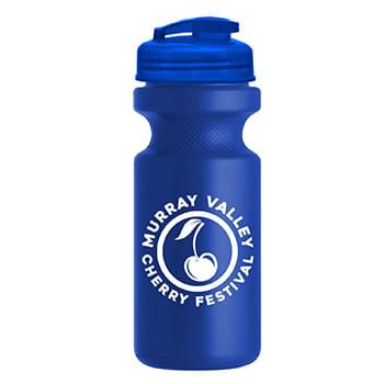 22 oz. Eco-Cycle Bottle with USA Flip Lid