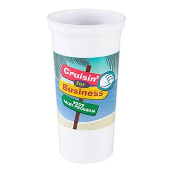 Super Size - 32 oz. Stadium Cup -DP